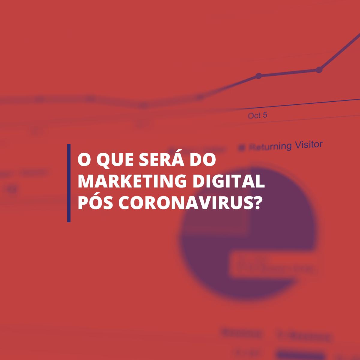 O que será do marketing digital pós Coronavírus?
